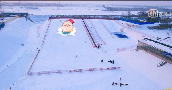 杨子为安迪建的滑雪场