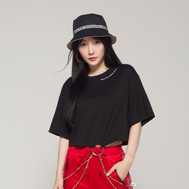 李小璐为自创品牌当模特